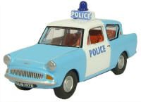 Oxfords Ford Anglia Police Car with Flashing Light